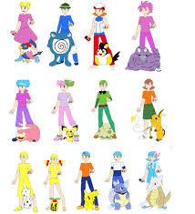 men pokemon trianers 1 emeraldzebra1234 deviantart