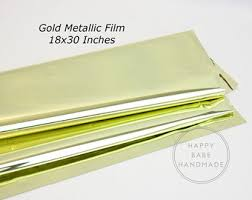 mylar wrapping paper gold mylar metallic gold mylar tissue paper 10 sheets gold