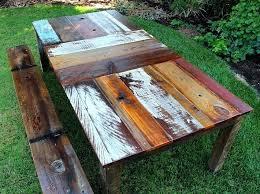 rustic outdoor picnic tables rustic wooden tables mostafiz me