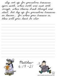 cursive handwriting worksheet on handwriting sentences writing