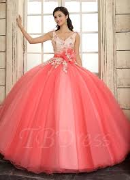 quinceanera dresses with straps v neck a line straps lace flowers lace up floor length quinceanera