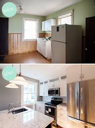home design before and after 20 small kitchen renovations before and after diy design decor
