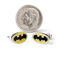 batman earrings batman stud earrings thinkgeek