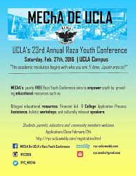 mecha de ucla u0027s raza youth conference home facebook