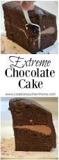 extreme chocolate cake recipe ganache icing chocolate dreams