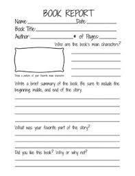 book report template 4th grade second grade book report template book report form for 2nd 3rd