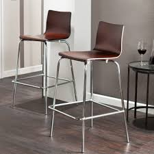 Wooden Bar Stool With Back Furniture Low Back Wooden Bar Stools Leather Backless With