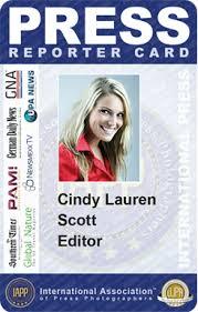 the iapp reporter id card