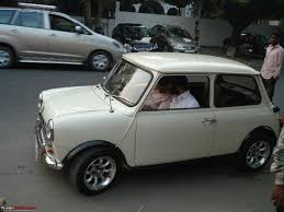 check out this classic mini restored u0026 modified page 3 team bhp
