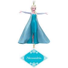 disney frozen elsa personalized ornament personalized ornaments