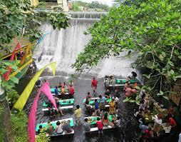 waterfall restaurant in the village of escudero best waterfall 2017