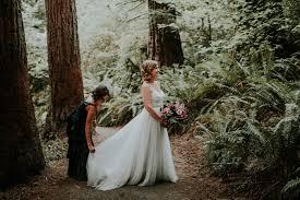 wedding photography portland kathryn justin hoyt arboretum union pine portland wedding