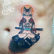 monmon cat tattoos u2013 all things tattoo