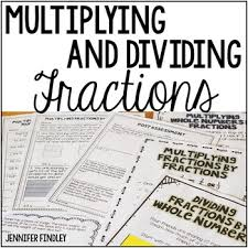 multiplying and dividing fractions by jennifer findley tpt