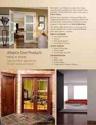 Interior French Doors With Transom - alliance door products interior french door canada
