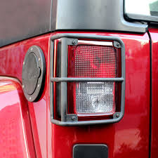 jeep wrangler brake light cover rear light decoration cover tail light covers guards protectors for