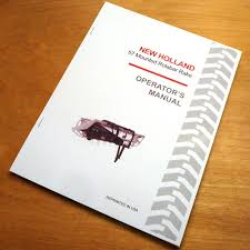 new holland 57 mounted rolabar hay rake operator u0027s owner u0027s book