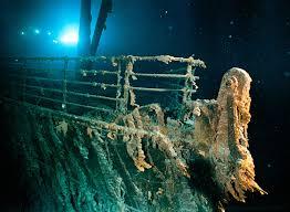 titanic is falling apart
