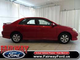 2003 used toyota corolla 4dr sedan s automatic at fairway ford