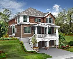 hillside house plans for sloping lots house plans for sloping lots home office