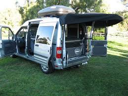 Ford Transit Connect Awning Ford Transit Connect Camper 3 The Great Outdoors Pinterest