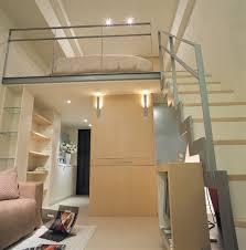Interior Design Bedroom Mezzanine Design Small Apartment Modern - Small space apartment interior design