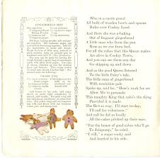 thanksgiving rhyme children u0027s rhymes and baking powder revisited a gingerbread man