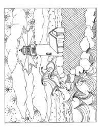 free coloring pages lighthouses image