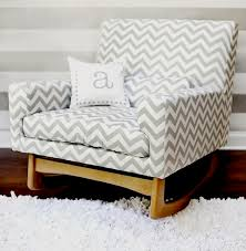 Fabric Rocking Chair For Nursery Upholstered Rockers For Baby S Nursery Kidspace Interiors