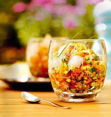 recette cuisine poisson recette de cuisine poissons crus et gaspacho solide