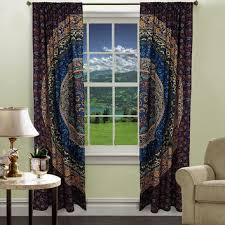 shop hippie tapestry curtains on wanelo