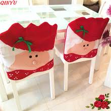 Christmas Chair Back Covers Popular Snowman Table Decorations Buy Cheap Snowman Table