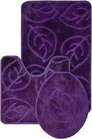 Purple Bathroom Rug Purple Bathroom Rugs Healingtheburn Org
