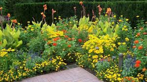 design your garden by using sheared hedges like a