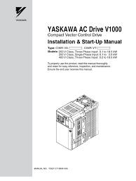 yaskawa v1000 manual en transmission mechanics electrostatic