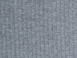 unexpensive grey melange rib knit fabric on thesweetmercerie