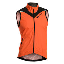 mens hi vis waterproof cycling jacket monton windproof waterproof fluorescent orange cycling vest