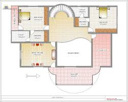 First Floor Bedroom House Plans Duplex House Plan And Elevation 4217 Sq Ft Indian House Plans
