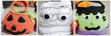 trick or treat bags make your own crocheted trick or treat bags interweave