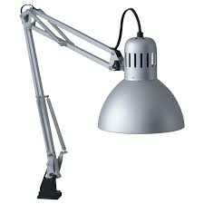 drafting table lamp ikea tertial work lamp silver color amazon com