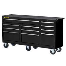 stanley 10 drawer rolling tool cabinet stanley 73 11 drawer ball bearing slides roller cabinet black