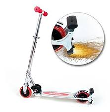 razor kick scooter light up wheels amazon com razor spark kick scooter with light up wheels red