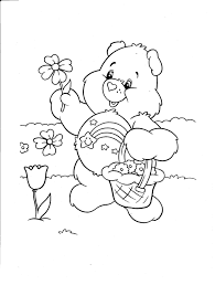 bear coloring kids drawing coloring pages marisa