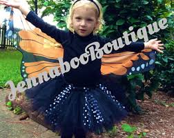 Monarch Butterfly Halloween Costume Monarch Butterfly Costumes Girls Etsy