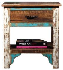 Curved Nightstand End Table 30 Inch Tall Bedroom Night Table Nightstands And Bedside Tables