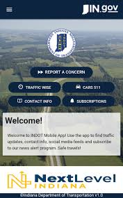 Indiana Road Conditions Map Indot Indot Mobile App