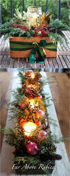 Table Christmas Decorations Centerpieces