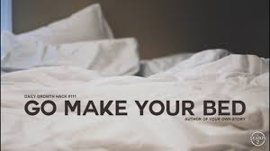 ays daily growth hacks 111 go make your bed youtube