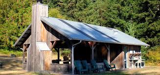 Tent Building Lopez Farm Cottages U0026 Tent Camping San Juan Islands Washington