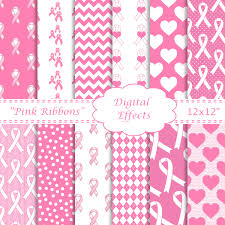 halloween breast cancer ribbon background breast cancer digital paper pink ribbons pink u0026 white